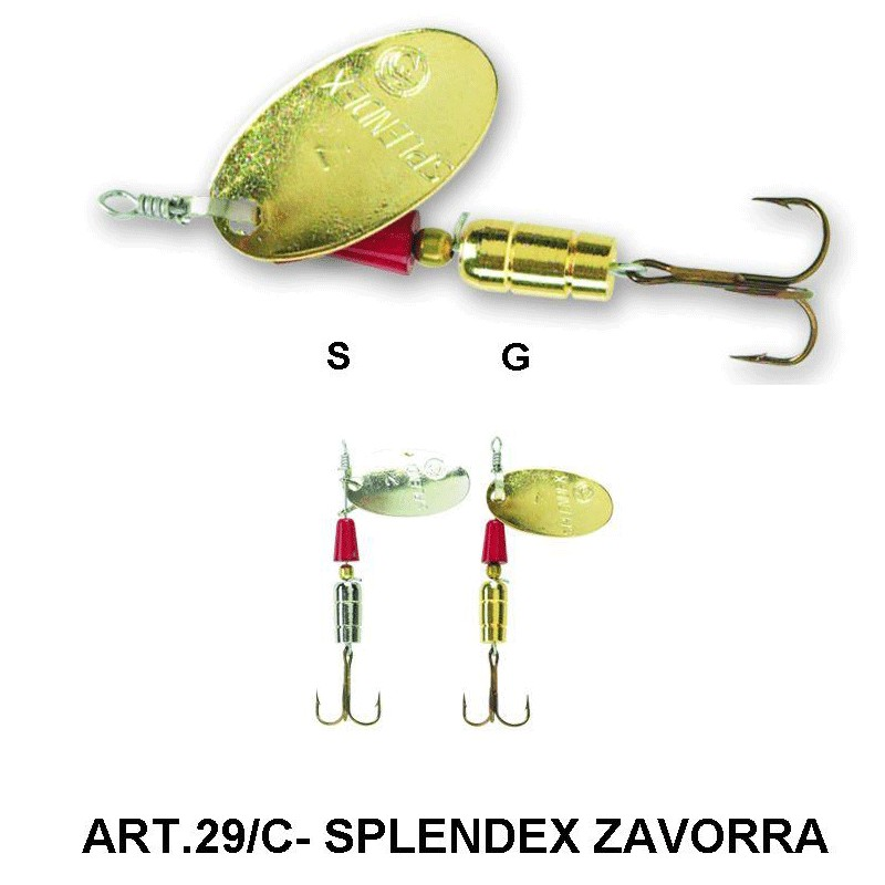 Блесна SPLENDEX- ART.29/C