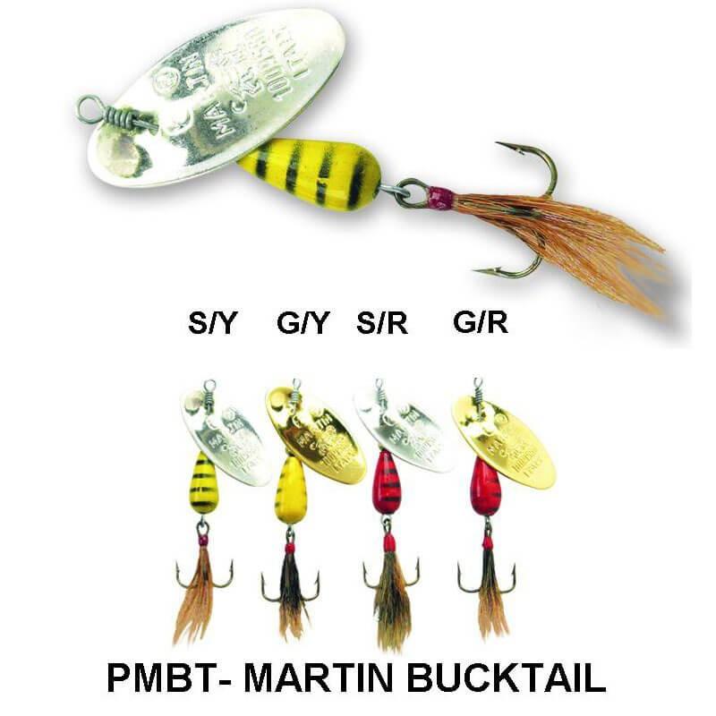 Блесни, PMBT- MARTIN BUCKTAIL