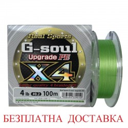 YGk PE Line Real Sports G-Soul X4 Upgrade