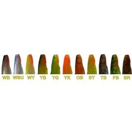 Силикони OrkA Shad цветове