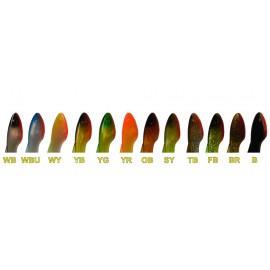 Силикони OrkA Shad Tail цветове